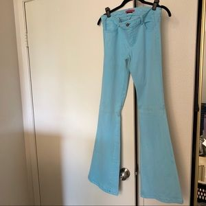 Alice + Olivia Light Blue Bootcut Jeans Size 6